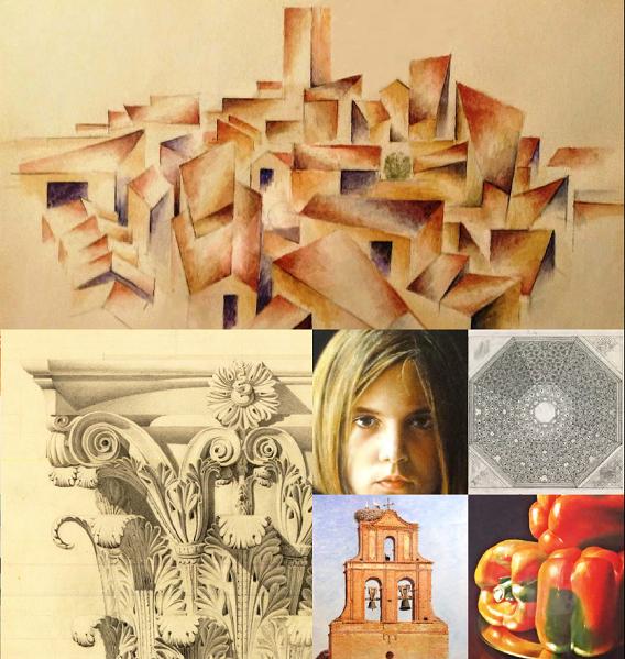 EXPOSICIÓN (Dibujo, Pintura y Arquitectura)de OVIDIO PRIETO